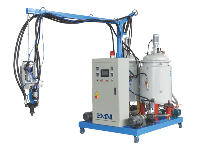 Máquina de aislamiento de espuma de PU de baja presión