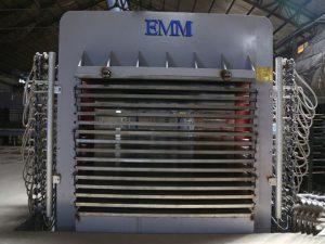 Máquina laminadora de prensado en caliente de varias capas, prensa de madera para la fabricación de madera contrachapada