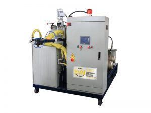 máquina de colada del elastómero del poliuretano