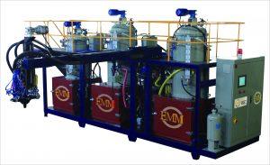 Máquina mezcladora de raciones TPU