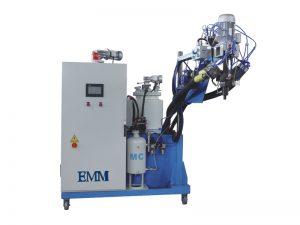 Máquina de colada de elastómero de dos componentes.