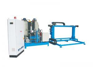 Máquina de producción de espuma de poliuretano continua automática de alta presión, paneles de panel de pared con aislamiento de espuma de pu que hacen la máquina