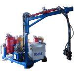 Máquina espumadora de alta presión de ciclopentano para refrigerador, calentador solar
