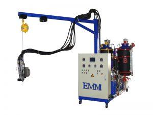 Máquina espumadora de alta presión de ciclopentano para refrigerador.
