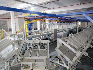 máquina de la línea de producción del anillo de la almohada del resto del cuello