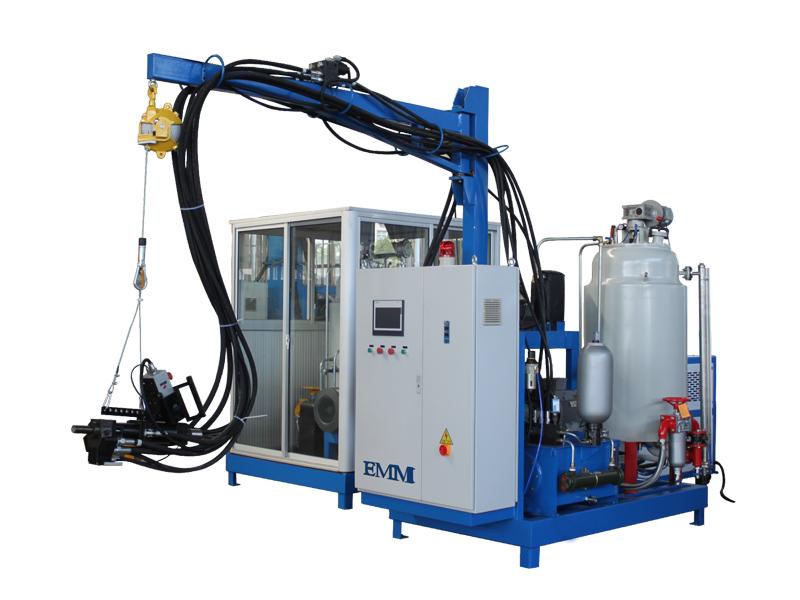 máquina de espuma de alta presión pu
